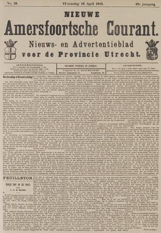 Nieuwe Amersfoortsche Courant 1913-04-16