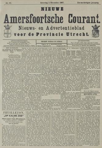 Nieuwe Amersfoortsche Courant 1907-11-02