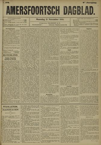 Amersfoortsch Dagblad 1910-11-21