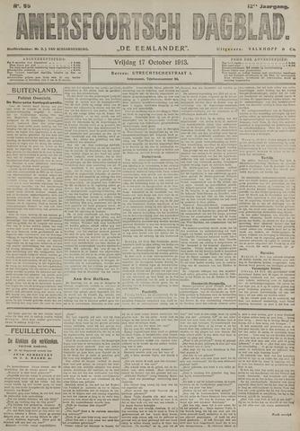 Amersfoortsch Dagblad / De Eemlander 1913-10-17