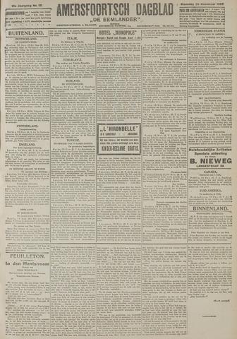 Amersfoortsch Dagblad / De Eemlander 1922-11-20