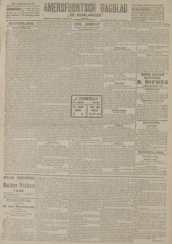 Amersfoortsch Dagblad / De Eemlander 1922-11-15