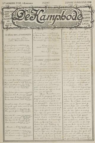 De Kampbode 1918-08-11