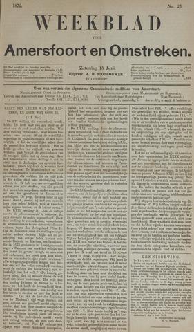 Weekblad voor Amersfoort en Omstreken 1872-06-15