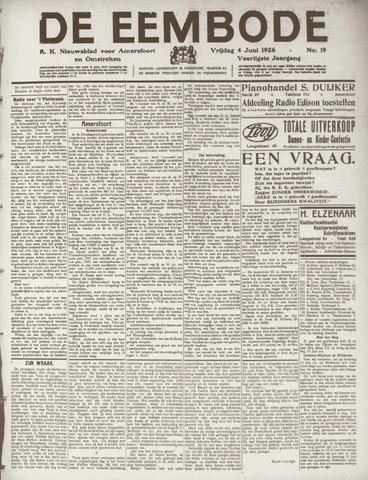 De Eembode 1926-06-04