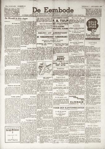De Eembode 1937-10-01