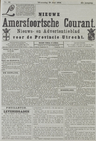 Nieuwe Amersfoortsche Courant 1916-06-28