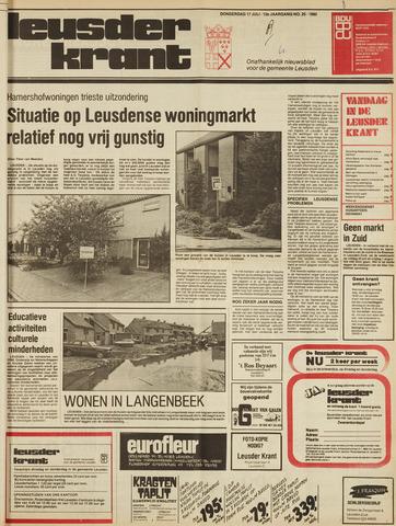 Leusder Krant 1980-07-17