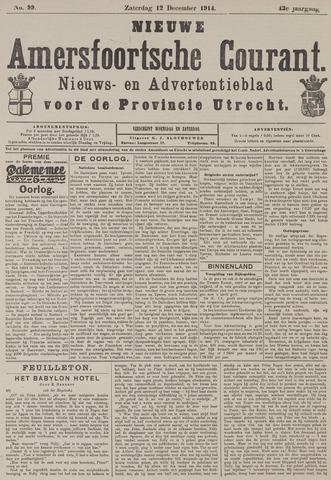 Nieuwe Amersfoortsche Courant 1914-12-12