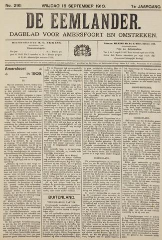 De Eemlander 1910-09-16