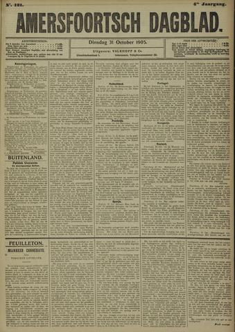 Amersfoortsch Dagblad 1905-10-31