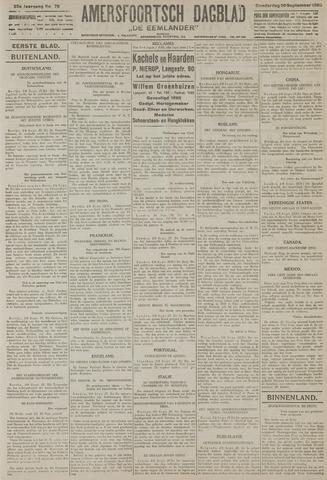 Amersfoortsch Dagblad / De Eemlander 1926-09-30