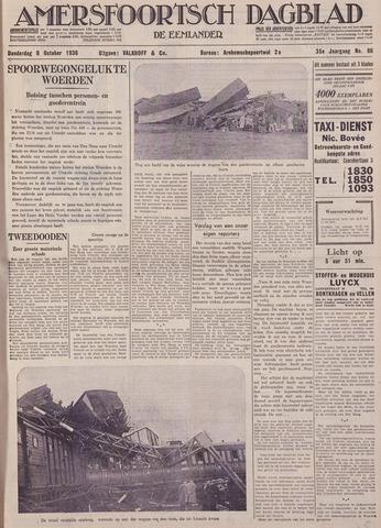 Amersfoortsch Dagblad / De Eemlander 1936-10-08