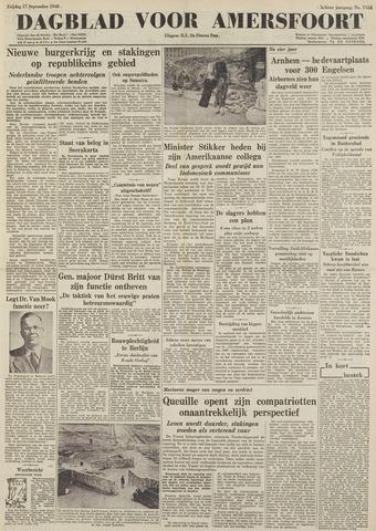 Dagblad voor Amersfoort 1948-09-17