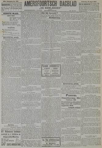 Amersfoortsch Dagblad / De Eemlander 1922-04-29