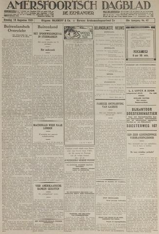 Amersfoortsch Dagblad / De Eemlander 1931-08-18