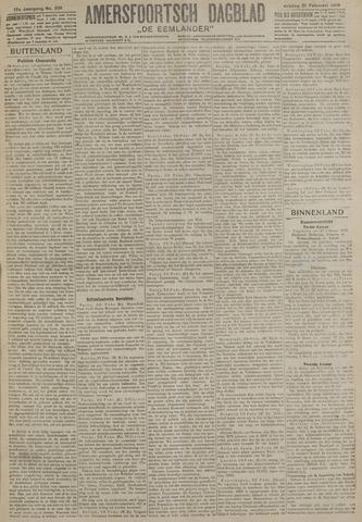 Amersfoortsch Dagblad / De Eemlander 1919-02-21