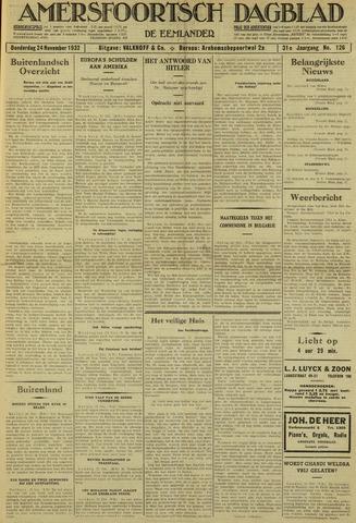 Amersfoortsch Dagblad / De Eemlander 1932-11-24