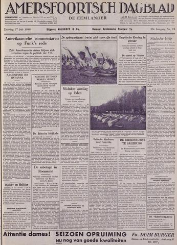 Amersfoortsch Dagblad / De Eemlander 1940-07-27