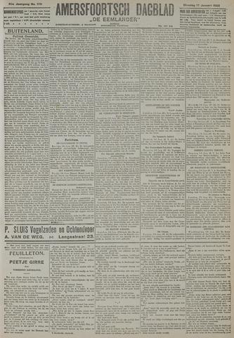 Amersfoortsch Dagblad / De Eemlander 1922-01-17