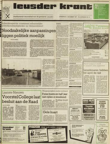 Leusder Krant 1987-12-03