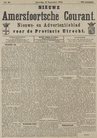 Nieuwe Amersfoortsche Courant 1919-09-13