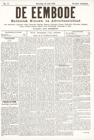 De Eembode 1893-07-22