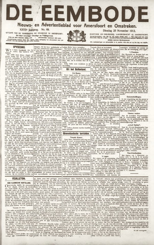 De Eembode 1913-11-25