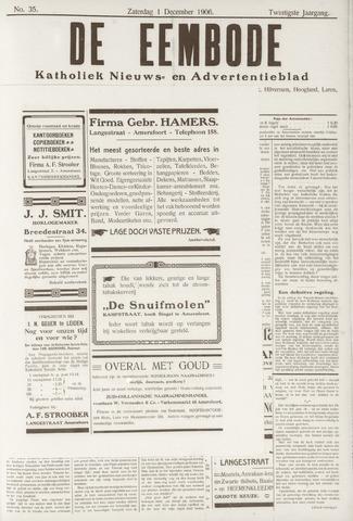 De Eembode 1906-12-01