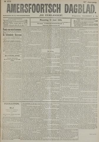 Amersfoortsch Dagblad / De Eemlander 1915-06-21