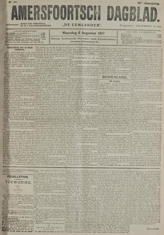 Amersfoortsch Dagblad / De Eemlander 1917-08-06