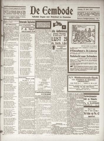 De Eembode 1933-04-25