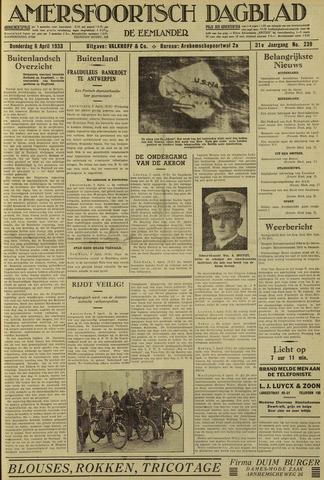 Amersfoortsch Dagblad / De Eemlander 1933-04-06