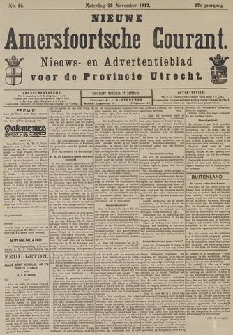 Nieuwe Amersfoortsche Courant 1913-11-29