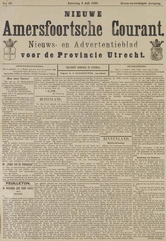 Nieuwe Amersfoortsche Courant 1898-07-09