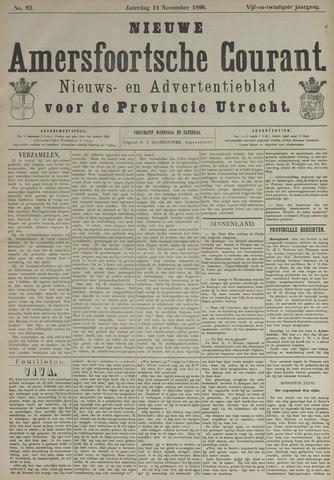 Nieuwe Amersfoortsche Courant 1896-11-14