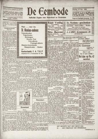 De Eembode 1935-11-26