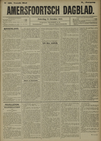 Amersfoortsch Dagblad 1910-10-15