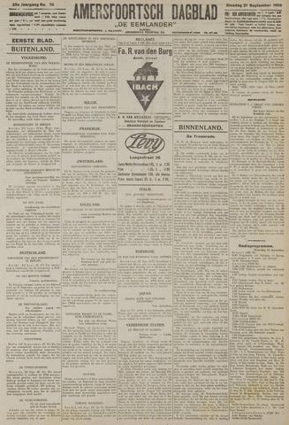 Amersfoortsch Dagblad / De Eemlander 1926-09-21