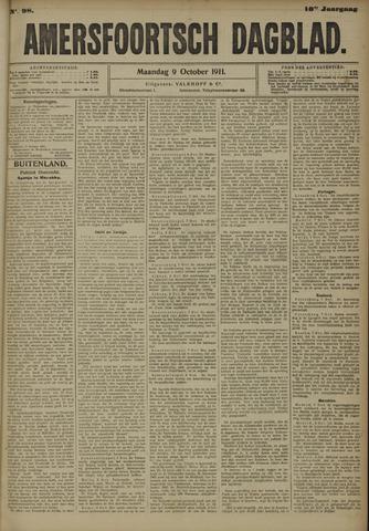 Amersfoortsch Dagblad 1911-10-09