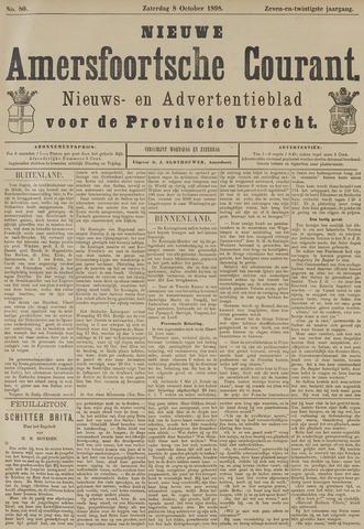 Nieuwe Amersfoortsche Courant 1898-10-08