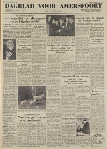 Dagblad voor Amersfoort 1949-01-27