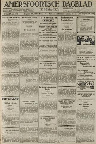 Amersfoortsch Dagblad / De Eemlander 1930-06-27