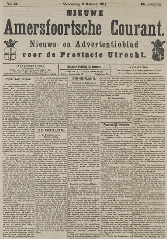Nieuwe Amersfoortsche Courant 1917-10-03