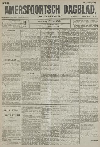 Amersfoortsch Dagblad / De Eemlander 1915-05-17