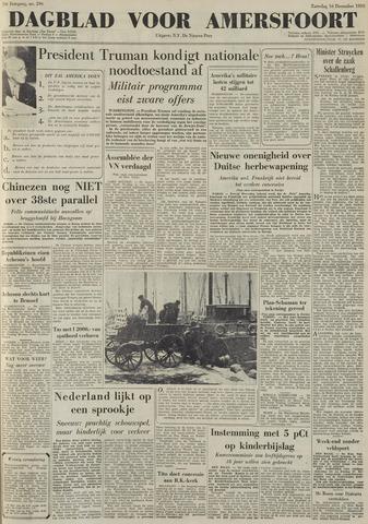 Dagblad voor Amersfoort 1950-12-16