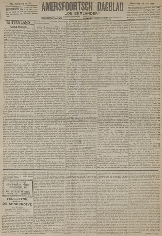 Amersfoortsch Dagblad / De Eemlander 1919-07-23