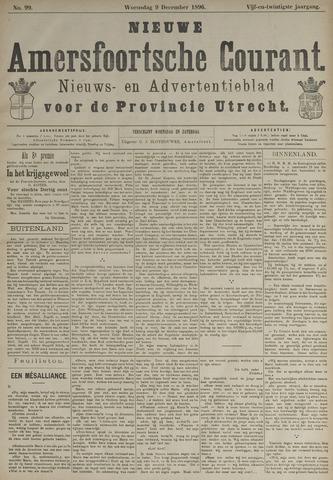 Nieuwe Amersfoortsche Courant 1896-12-09