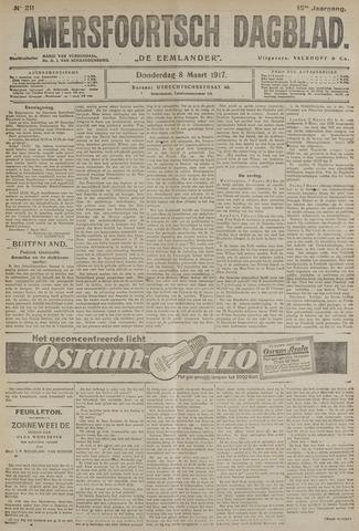 Amersfoortsch Dagblad / De Eemlander 1917-03-08
