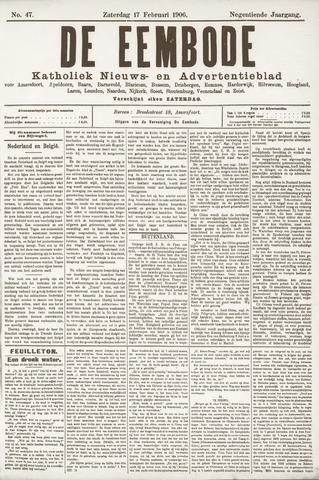 De Eembode 1906-02-17